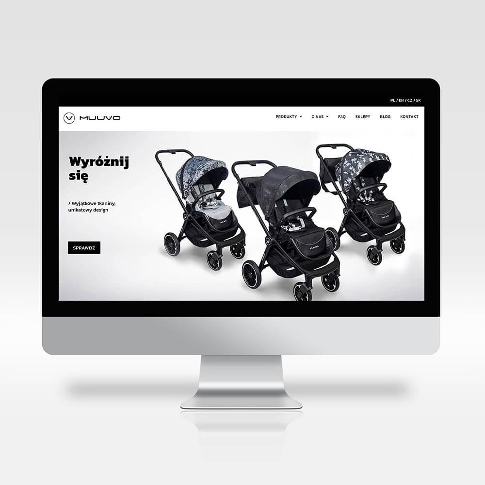 Strona internetowa dla Muuvo
